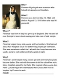 Florence Nightingale One-Sheeter