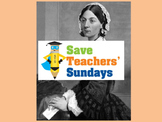 Florence Nightingale historical evidence Lesson plan, PowerPoint & Writing frame