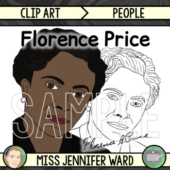 Florence Price Clipart