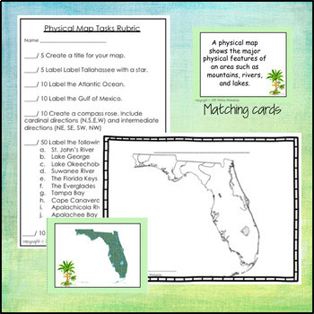Florida Map Skills Activities By White S Workshop Tpt