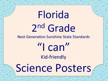 Florida 2nd Grade Science Next Generation Sunshine State S