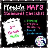 Florida 3rd Grade MAFS Planning & Progress Monitoring Checklist