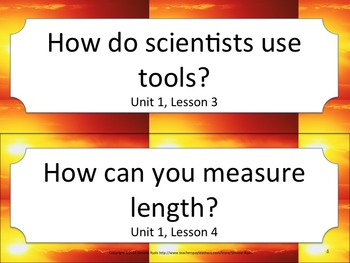 Florida 3rd Third Grade Science ESSENTIAL QUESTIONS Sunset