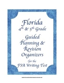 Florida 4th 5th Grade FSA Writing Test Planning & Revision Checklists