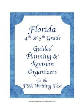 Florida 4th 5th Grade FSA Writing Test Planning & Revision