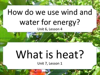 Florida 4th Fourth Grade Science ESSENTIAL QUESTIONS Garden