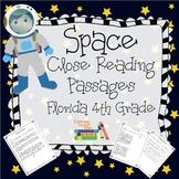 Florida 4th Grade Space Close Reading Passages