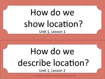 Florida 5th Fifth Grade SS Social Studies ESSENTIAL QUESTIONS Red