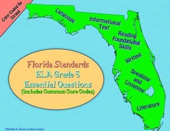 Florida 5th Grade ELA Essential Questions