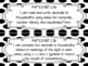 "Florida 5th Grade Math Standards/ ""I Can"" Statements (Black and White PolkaDots)"