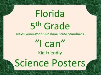 Florida 5th Grade Science Next Generation Sunshine State S