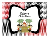 """Florida 5th Grade Science Standards """"I Can"""" Statements"""