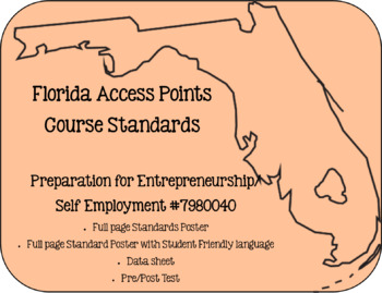 Florida Access Points Course Standards Bundle for Career Experiences