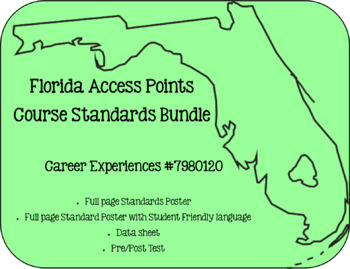Florida Access Points Course Standards Bundle for Career Experiences
