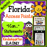 Florida Access Points - Kindergarten Language Arts