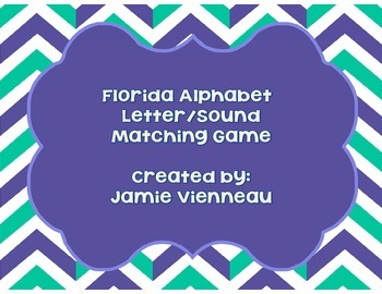 Florida Alphabet Beginning Sound Match