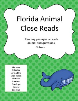 Florida Animal Close Reading