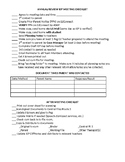 Florida Annual/Review IEP checklist
