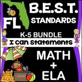 Florida BEST Standards: Grades K-5 ELA+Math Illustrated I