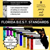 Florida BEST Standards I Can Statements ELA Grade 7 English Language Arts