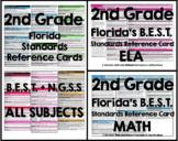 Florida B.E.S.T. Standards Reference Card - 2nd Grade (Math)