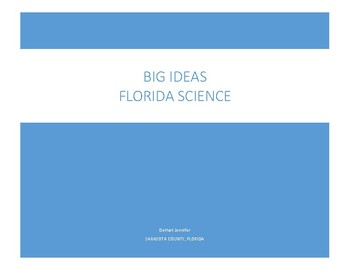 Florida Big Ideas for Science