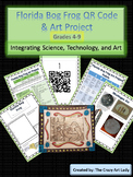 Florida Bog Frog QR Code Science and Art Lesson