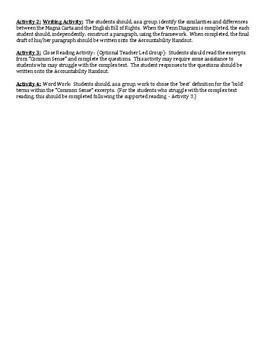 Florida CIVICS - Influence of Historical Documents . SS.7.C.1.2