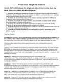 Florida Civics - SS.7.C.2.2 - Duties and Responsibilities
