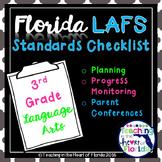Florida 3rd Grade LAFS Planning & Progress Monitoring Checklist