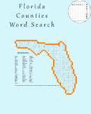 Florida Counties Word Search