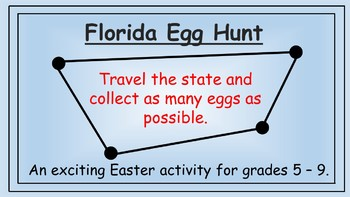 Florida Easter Math Activity