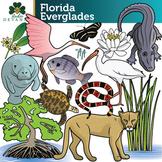 Florida Everglades / Wetland Clip Art