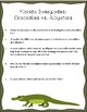 Florida Everglades Reading Passage and Questions: Alligators and Crocodiles