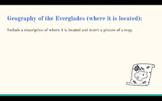 Florida Everglades Research Project - Google Slides