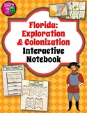 Florida Exploration & Colonization Interactive Notebook 4th Grade Unit 2