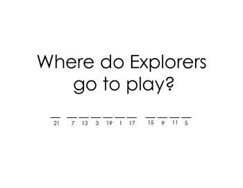 Florida Explorers Scavenger Hunt