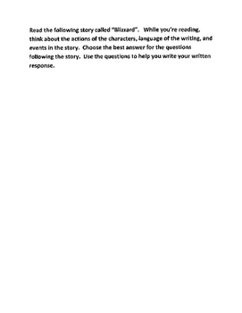 Florida FSA Grade 3-4 Test Practice