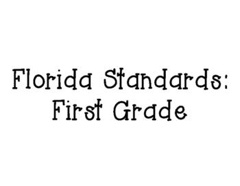 Florida First Grade Standards