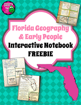 florida geography 4th grade interactive notebook freebie florida geography 4th grade interactive notebook freebie