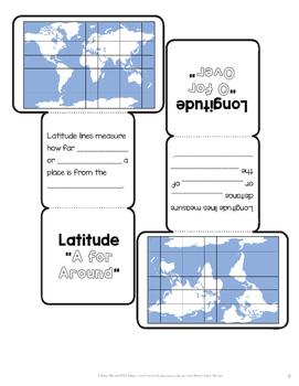 Florida Geography 4th Grade Interactive Notebook FREEBIE