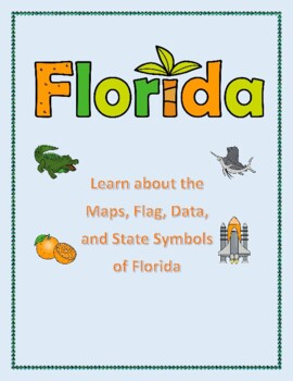 Florida Geography Map.Florida Geography Maps Flag And Data Analysis Assessment