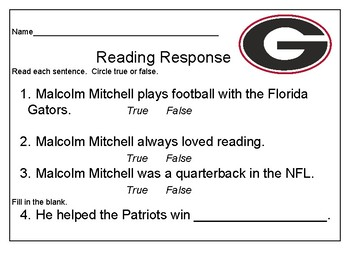 Florida Georgia Football Rivalry Reading Passages