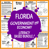 Florida Government Bundle of NINE Literacy-Based Lessons