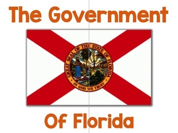 Florida Government Project:  4th Grade