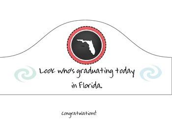 Florida Graduation Hat