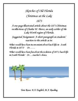 Florida History: Christmas at the Lake