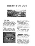 Florida History Florida Early Days Native Americans