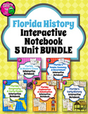 Florida History Interactive Notebook Social Studies BUNDLE 4th Grade