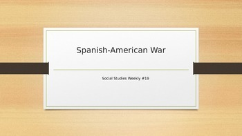 Florida History- Spanish- American War - Social Studies Weekly #19